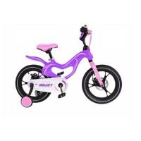 Bicicleta de copii 16 mh Magnesium Hollicy mov