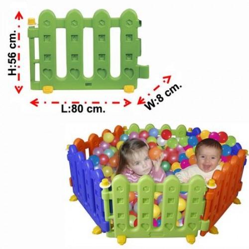 Gardulet loc de joaca pentru copii Play Area Hedge-06145