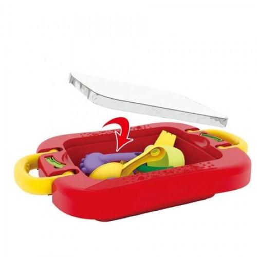 Masuta de joaca pentru apa si nisip Red Sand