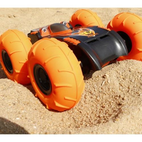 Masina offroad cu telecomanda si cu roti gonflabile Orange