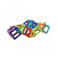 Joc Magnetic Educativ de Constructie 3D 28 piese