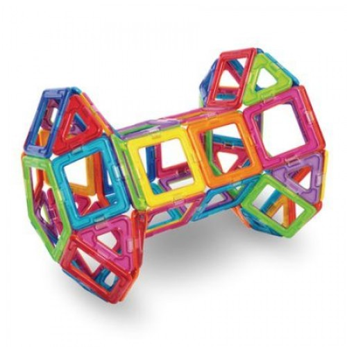 Joc magnetic educativ de constructie 3D - Mag-Diy