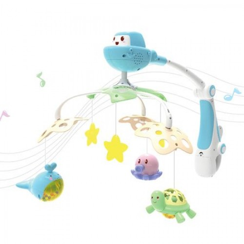 Carusel muzical cu proiector Funny Ocean