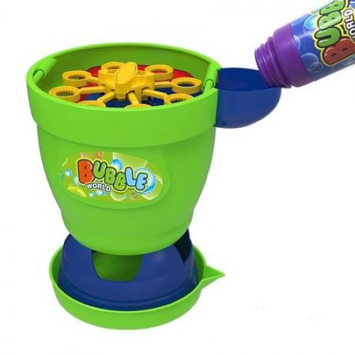 Jucarie de Facut Baloane de Sapun pentru Copii Bubble World