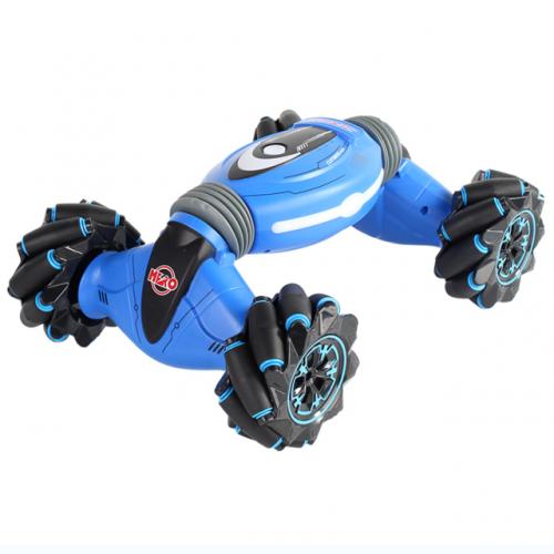 Masinuta controlabila prin gesturi albastra