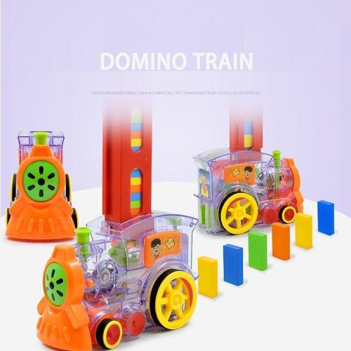 Joc domino Locomotiva