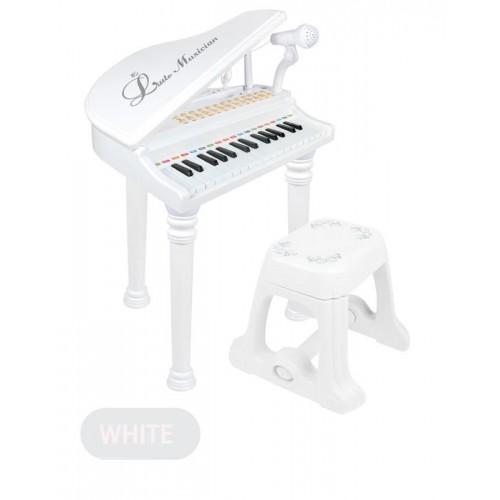 Pian electronic Micul Muzician alb