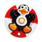 Jucarie de baie Pinguin, fantana