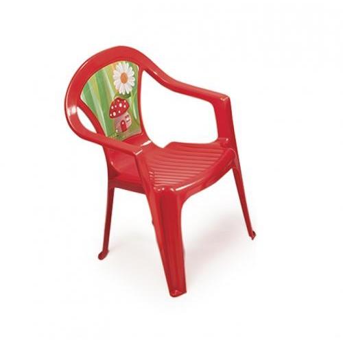 Set masa cu 2 scaune pentru copii Paradiso RED