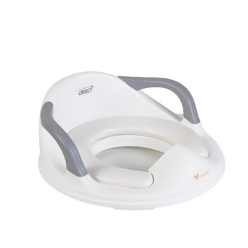Reductor ergonomic pentru toaleta cu spatar Orbit Grey