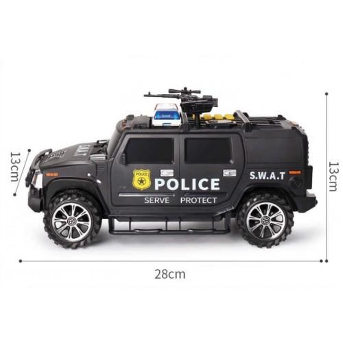 Pusculita Smart POLICE negru
