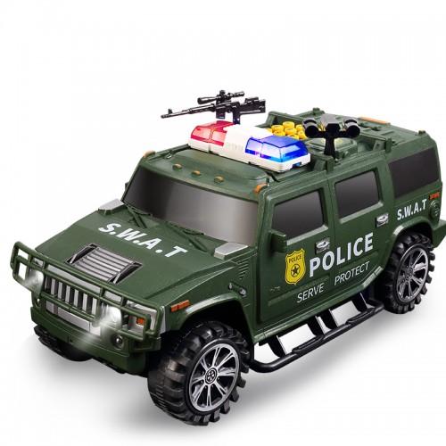 Pusculita Smart POLICE verde