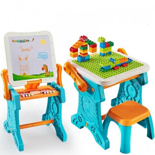 Set 2 in 1 Masuta desen si construit Easy Learning