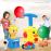 Jucarie interactiva cu masini de jucarie si lansator baloane BALLONY