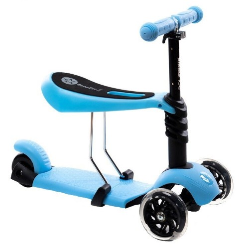 Trotineta Evolutiva Scooter 3 in 1 blue