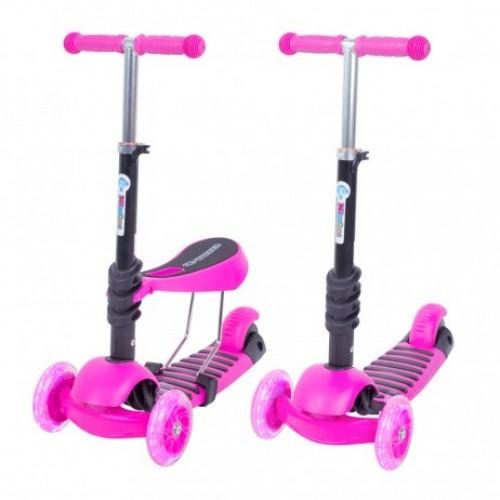 Trotineta Evolutiva Scooter 3 in 1 Pink