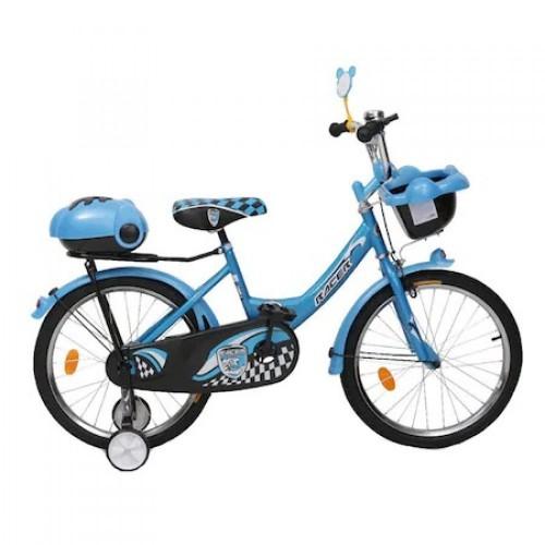 Bicicleta pentru copii cu roti ajutatoare Blue 20 inch 2082