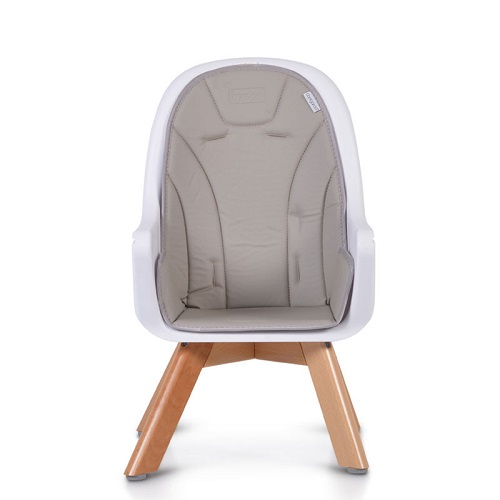 Scaun de masa din lemn Hygge, Cangaroo,gri