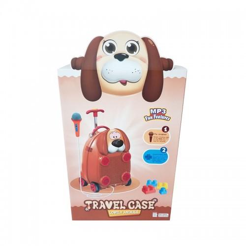 Troler muzical pentru copii Happy Dog