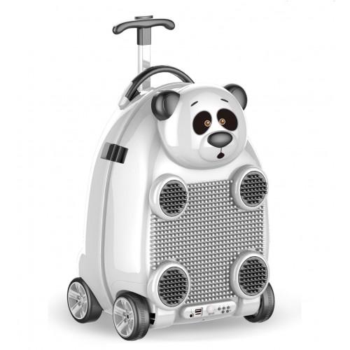 Troler muzical pentru copii Happy Panda