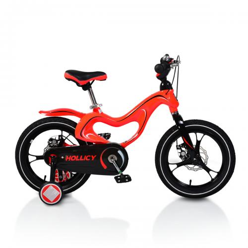 Bicicleta de copii 16 mh Magnesium Hollicy RED