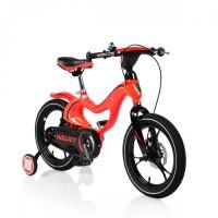 Bicicleta de copii 16 mh Magnesium Hollicy RED