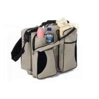 Geanta multifunctionala 3 in 1 Baby Travel Beige