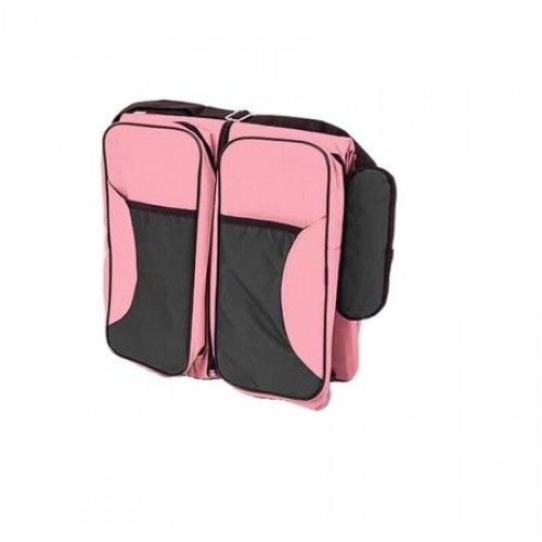 Geanta multifunctionala pentru calatorii Baby Travel Pink