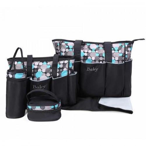 Geanta pentru mamici Mama Bag Diana Bleu