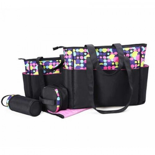 Geanta pentru mamici Mama Bag Diana Pink