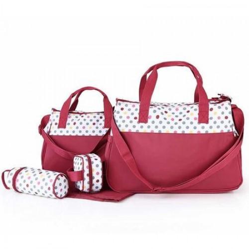 Geanta pentru mamici Mama Bag Natura Red
