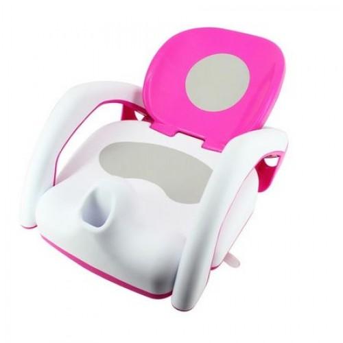 Scaunel baie pentru copii Pink