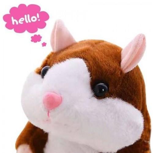 Jucarie interactiva hamster vorbitor Oscar maro