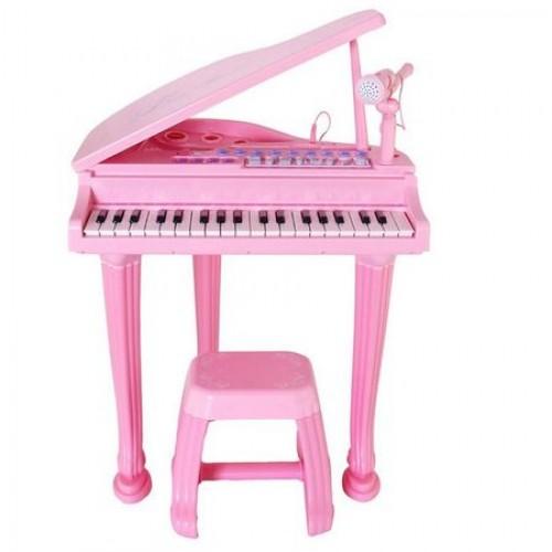 Pian cu microfon si scaun Little Princess