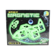 Joc magnetic Magic Glow 26 piese