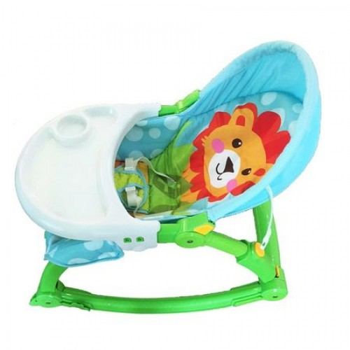 Balansoar 2 In 1 Cu Vibratii Lion Verde