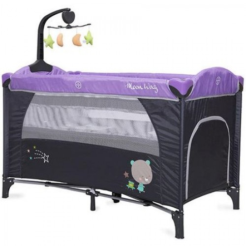 Patut pliant bebe Moon Way Purple