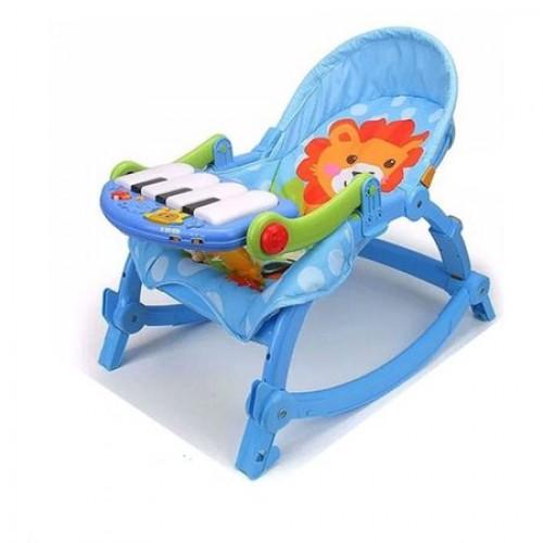 Balansoar multifunctional pentru copii, cu pian