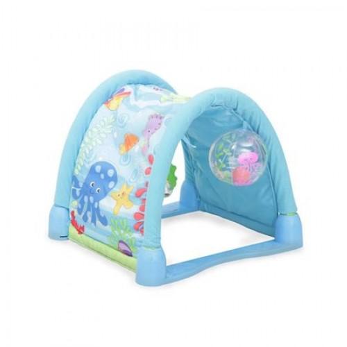 Covoras de joaca Ocean Paradise albastru