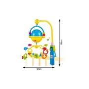 Carusel muzical cu proiector Bubble