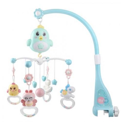 Carusel muzical pentru pat Sweet Birdie