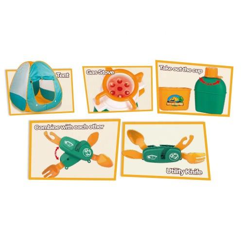 Cort de joaca pentru copii Micul explorator