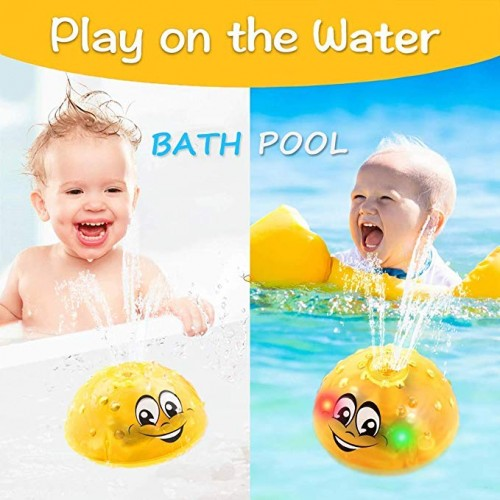Jucarie copii 2 in 1 Smiley Galben