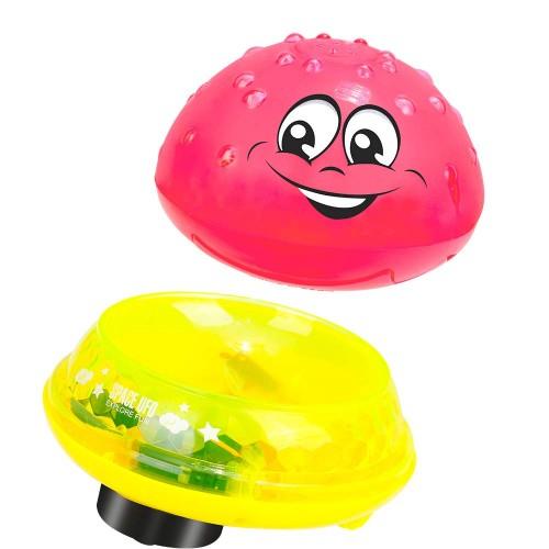 Jucarie copii 2 in 1 Smiley Rosu