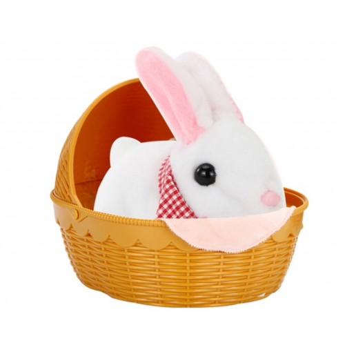 Jucarie Interactiva pentru copii Moe Rabbit