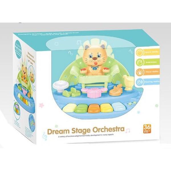 Jucarie muzicala Kitty Orchestra