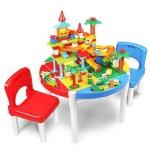 Masa Lego cu 2 scaune incluse