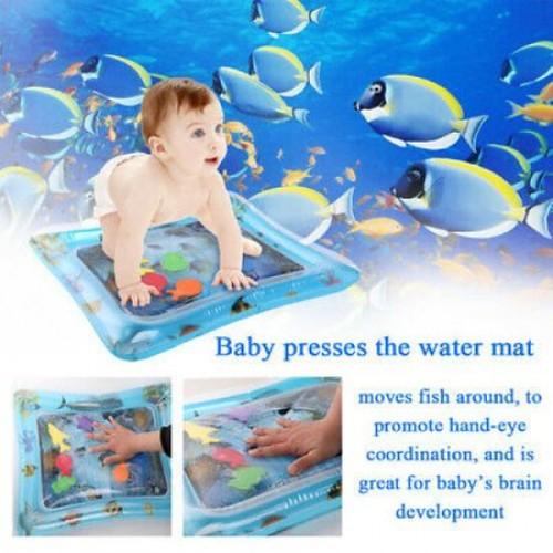 Covoras cu apa pentru copii Whale
