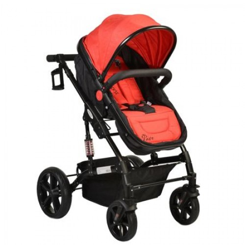 Carucior transformabil 2 in 1 Pavo Red