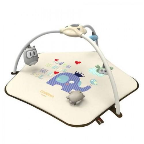 Covoras de joaca cu proiector Baby Dumbo